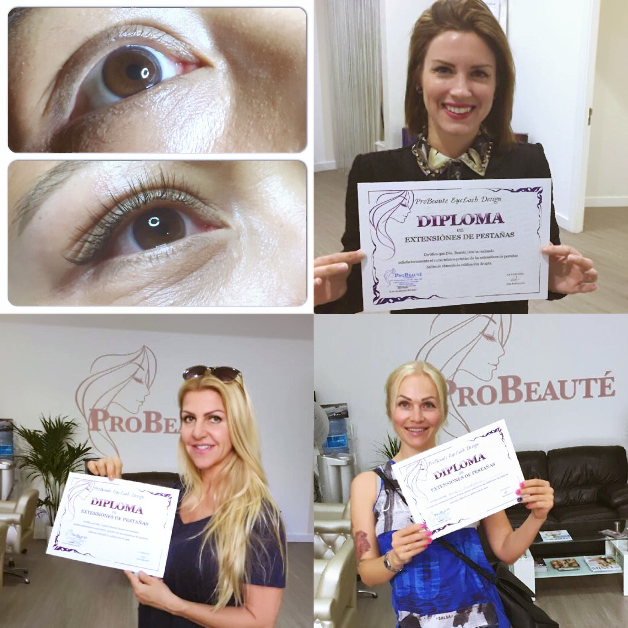Eyelash Extensions Course Online Probeaute Marbella Beauty